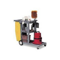 Struct-O-Cart Mobile Cleaning Trolley Grey 184GY-0