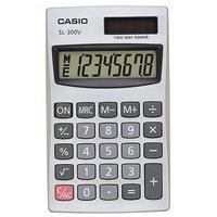 Casio SL-300V Pocket Calculator 8-digit-0