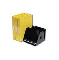 Rotadex 7-Section A4 Ring Binder Rack Black A4R/7