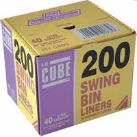 Le Cube Swing Bin Liner Dispenser PkPk 200 0480