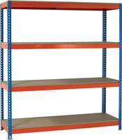 Heavy Duty Painted Unit Orange/Zinc 379031