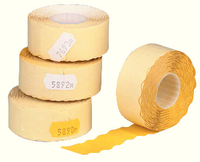 Avery Price Marking Label Single-Line Yellow Roll of 1500 Peelable-0