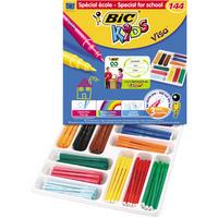 Bic Visa Colouring Pens Class Pack Pk 144-0