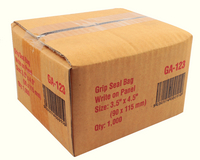 Write-on Minigrip Bag 90x115mm Pk 1000 GA-123-0