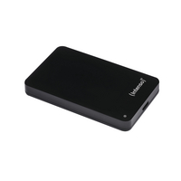 Intenso Black Memory Station USB 3.0 Portable Hard Drive 500GB 6021530-0