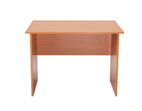 Jemini Intro Panel End Desk 1000mm Beech KF74125-0