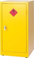Hazardous Substance Storage Cabinet 36X18X18 inch C/W 1 Shelf Yellow 188740-0