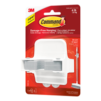 3M Command Adhesive Broom Gripper White 17007-ES-0