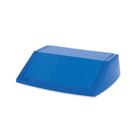 Addis 54 Litre Fliptop Bin Lid Blue 512570-0