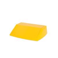 Addis 54 Litre Fliptop Bin Lid Yellow 512861-0