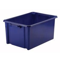 Strata Storemaster Jumbo Crate 48.5L Blue HW048-BLUE-0