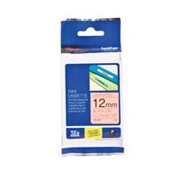 Brother P-Touch Tape 12mm Black on Orange TZEB31-0