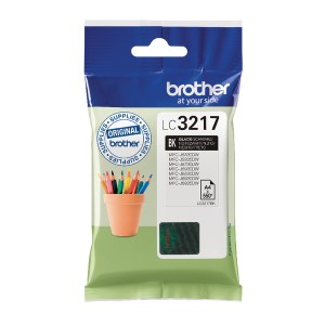 Brother Black Standard Yield Inkjet Cartridge LC3217BK-0