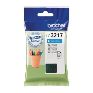 Brother Cyan Standard Yield Inkjet Cartridge LC3217C-0