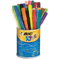 Bic Kids Visa Colouring Felt Tip Pens Fine Assorted Pack of 36 829012-0