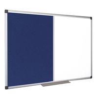 Bi-Office Combination Magnetic and Felt Board 1200 x 900mm XA0522170-0