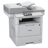Brother Mono Multifunction Laser Printer DCP-L6600DW Grey DCP-L5500DN-0