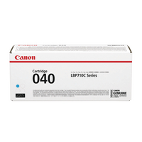 Canon 040 Cyan Laser Toner Cartridge 0458C001-0