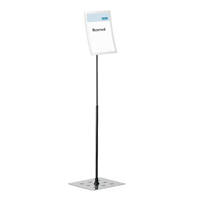 Durable Duraview Stand A4 Silver 498123-0