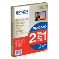 Epson Premium Glossy Photo Paper A4 2-for-1 Pk 30 + 30 Free C13S042169-0