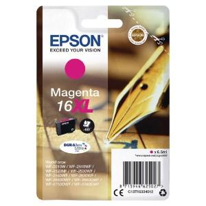 Epson 16XL Magenta Ink Cartridge C13T16334012-0