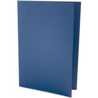 Concord 270gsm Square Cut Folder Medium-weight Foolscap Blue 43203 Pk100