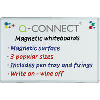 Q-Connect Magnetic Whiteboard 900x600mm 9700031