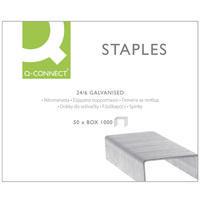 Q-Connect Staples 24/6 Pk1000 KF01278