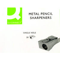 Q-Connect Metal Pencil Sharpener