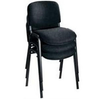 Jemini Charcoal Multi Purpose Stacking Chair KF03344