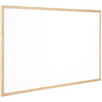 Q-Connect Dry Wipe Board White 300x400mm KF03569