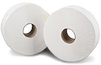 2Work Jumbo Toilet Roll 2-Ply 200 Metre Pk12 J26200