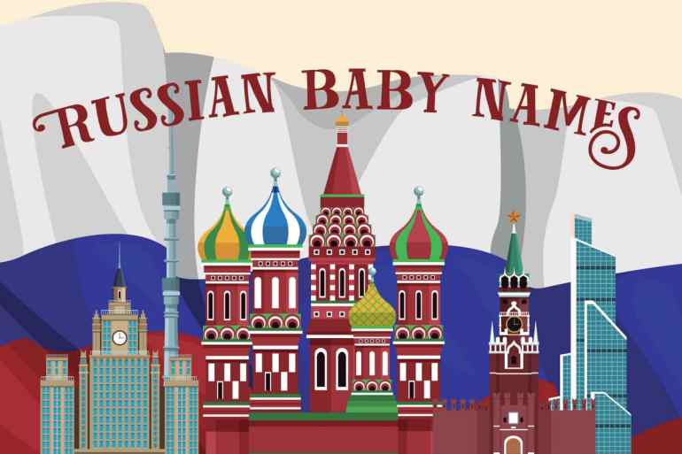 Most popular Russian baby names for boys & girls