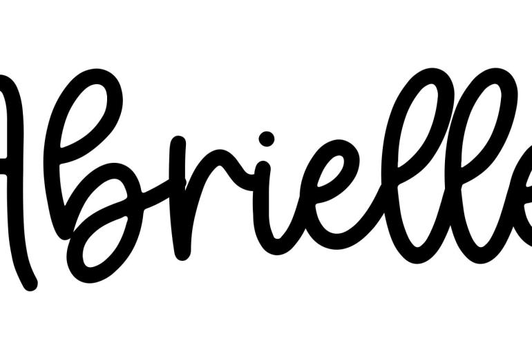 About the baby nameAbrielle, at Click Baby Names.com