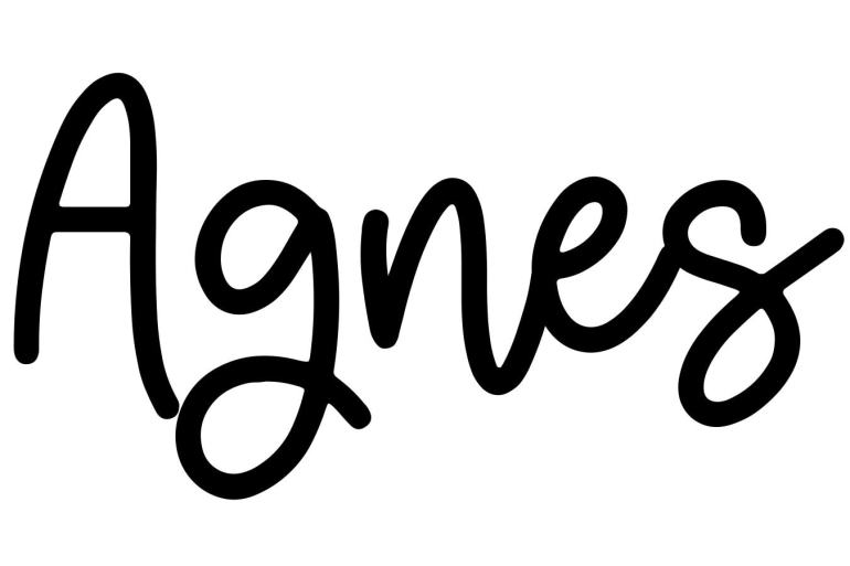 About the baby name Agnes, at Click Baby Names.com