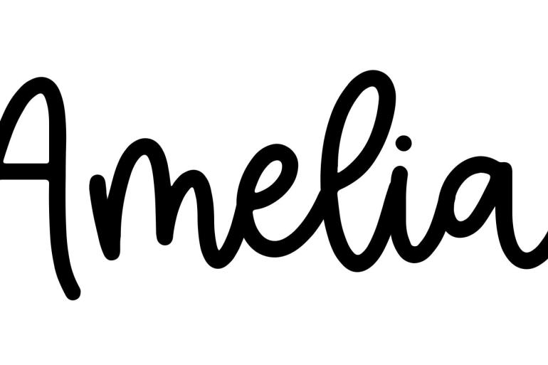 About the baby nameAmelia, at Click Baby Names.com