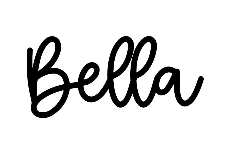 About the baby name Bella, at Click Baby Names.com