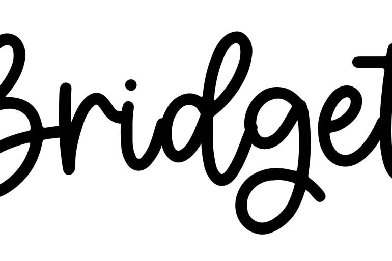 About the baby nameBridget, at Click Baby Names.com