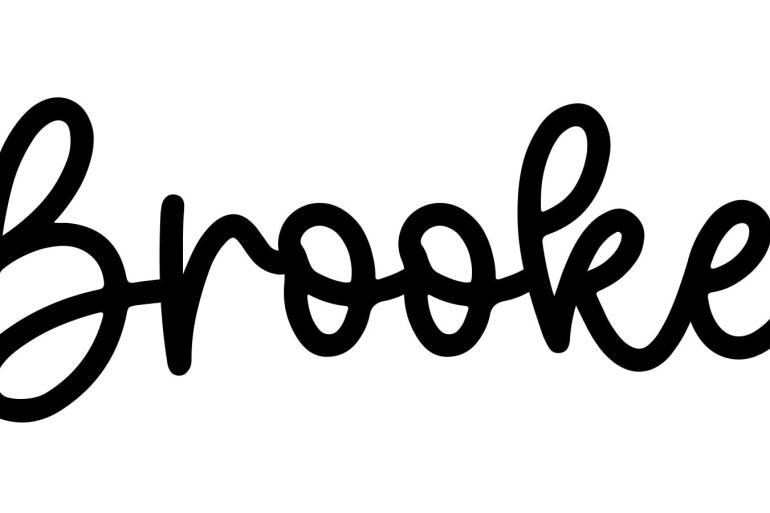 About the baby nameBrooke, at Click Baby Names.com