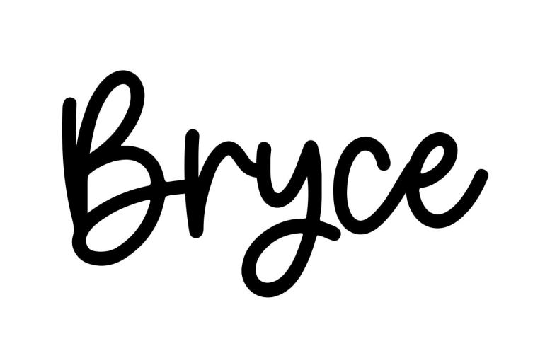 About the baby nameBryce, at Click Baby Names.com
