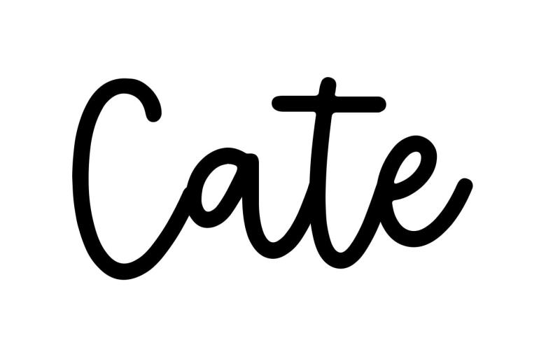 About the baby name Cate, at Click Baby Names.com