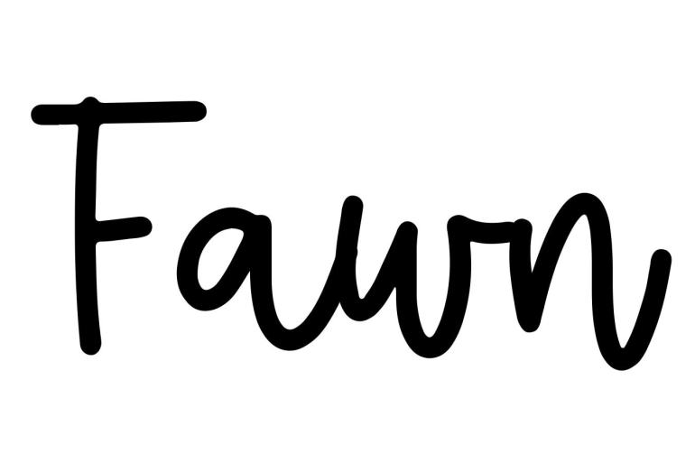 About the baby name Fawn, at Click Baby Names.com