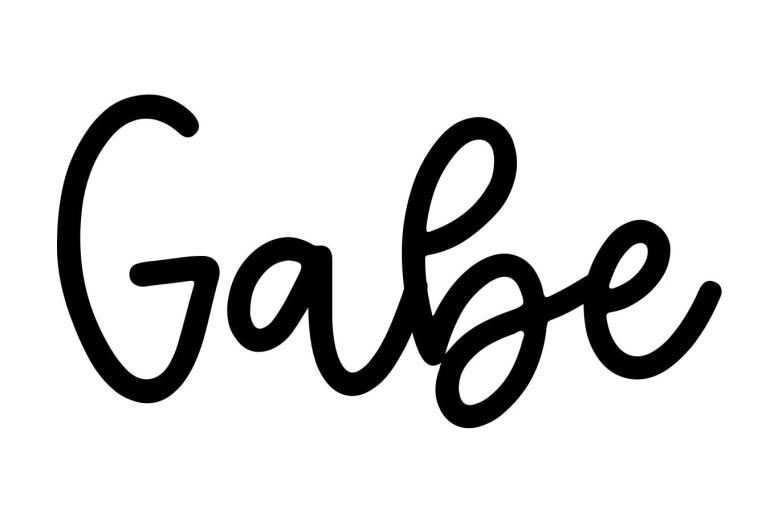 About the baby nameGabe, at Click Baby Names.com