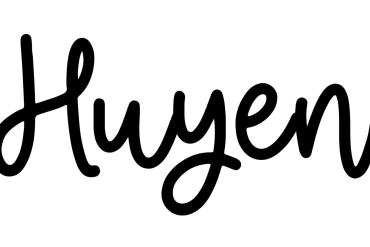 About the baby nameHuyen, at Click Baby Names.com