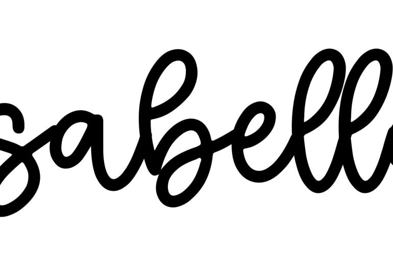 About the baby name Isabella, at Click Baby Names.com