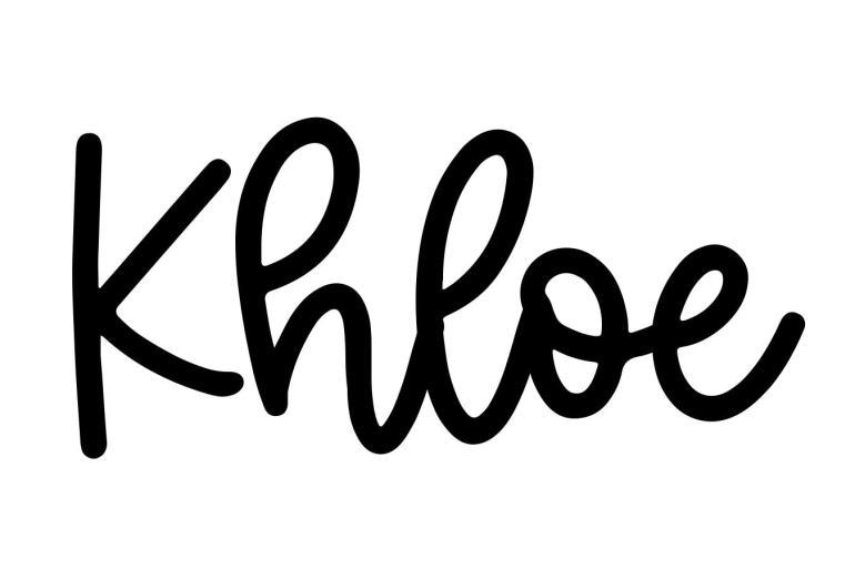 About the baby nameKhloe, at Click Baby Names.com