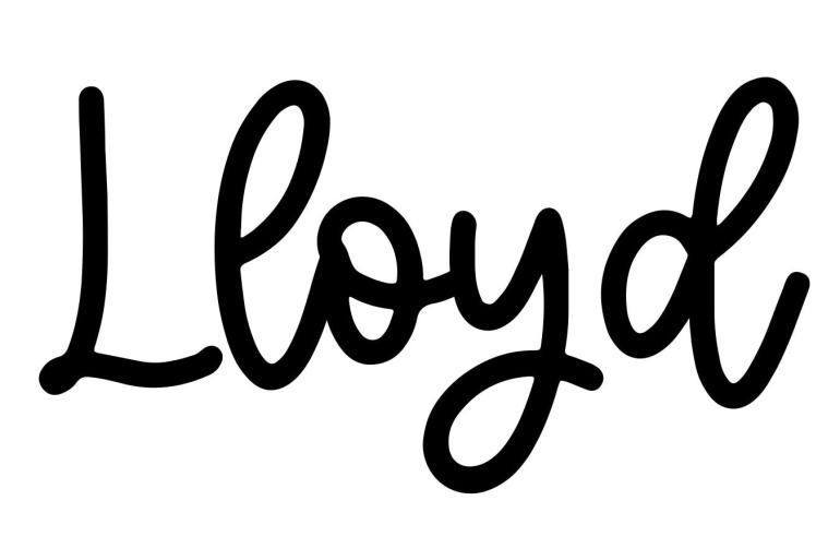 About the baby name Lloyd, at Click Baby Names.com