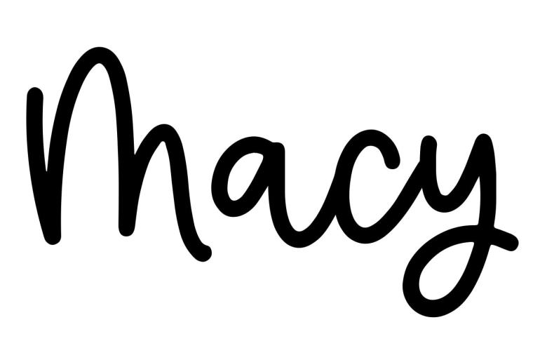 About the baby name Macy, at Click Baby Names.com