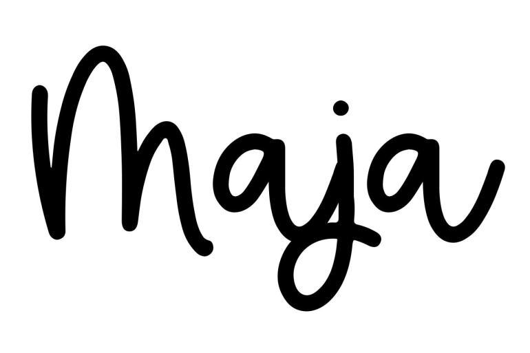 About the baby nameMaja, at Click Baby Names.com
