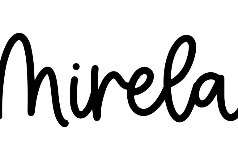 About the baby nameMirela, at Click Baby Names.com